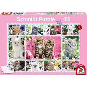 PUZZLE SCHMIDT SPIELE Puzzle 100 Pièces Chatons