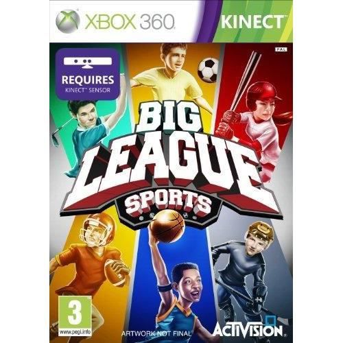 JEUX XBOX 360 Big League Sport - Kinect Jeu XBOX 360