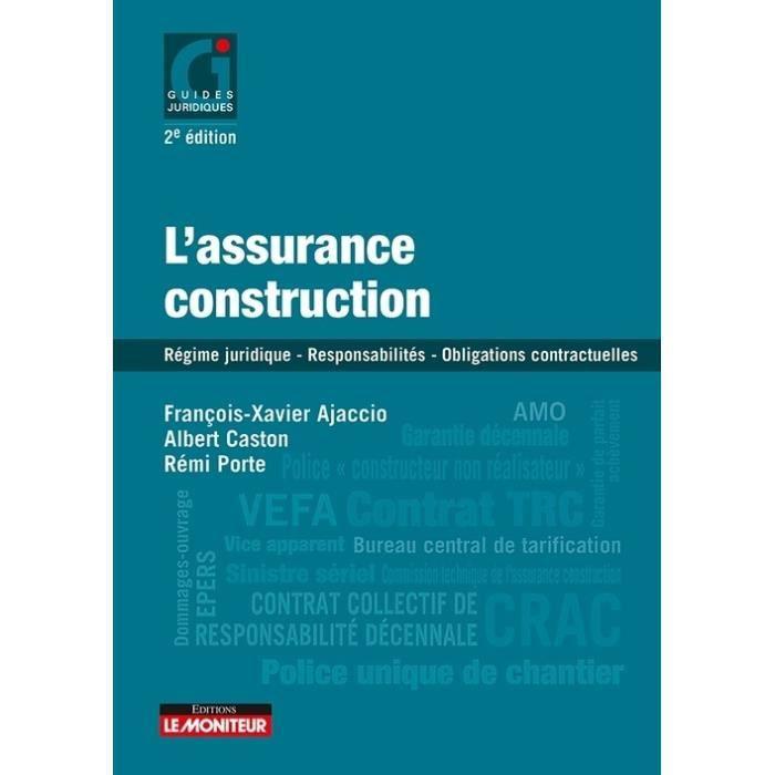 L'assurance construction. 2e édition