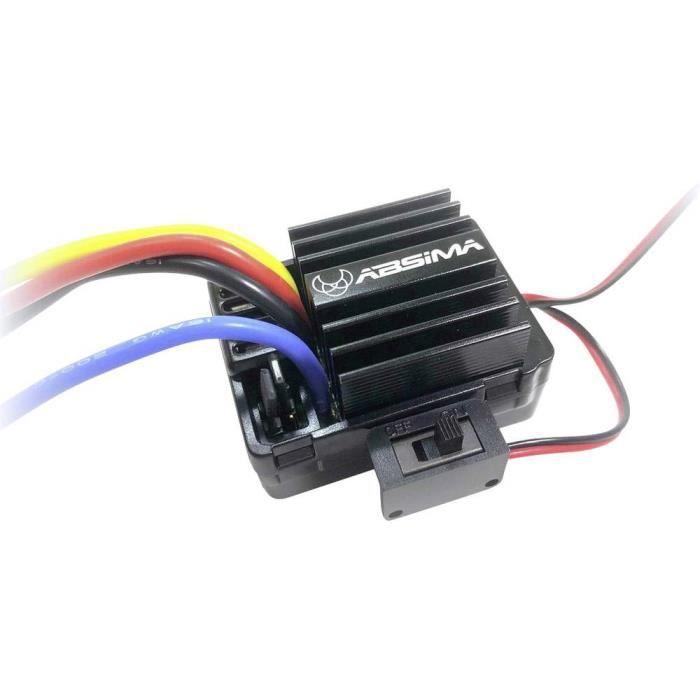 Régulateur de vitesse brushed de voiture Absima 2100004 Charge admissible (max.): 180 A 1 pc(s)