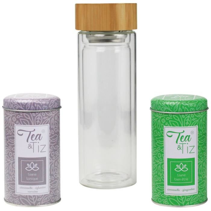 ARD'TIME Coffret Tea and Tiz - 400 ml
