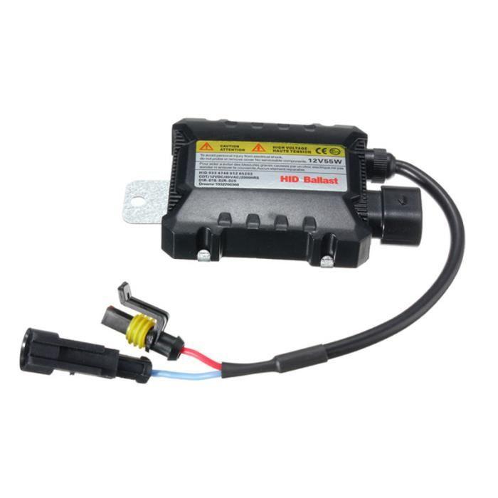 HID ballast 12V 55W 35W Slim Ballast Electronic Control Conversion Kit de remplacement de conversion de l'ampoule