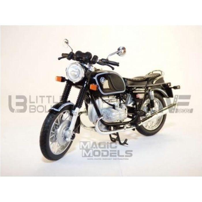 Voiture Miniature de Collection - NOREV 1/18 - BMW R90-6 1974 - Black - 182035