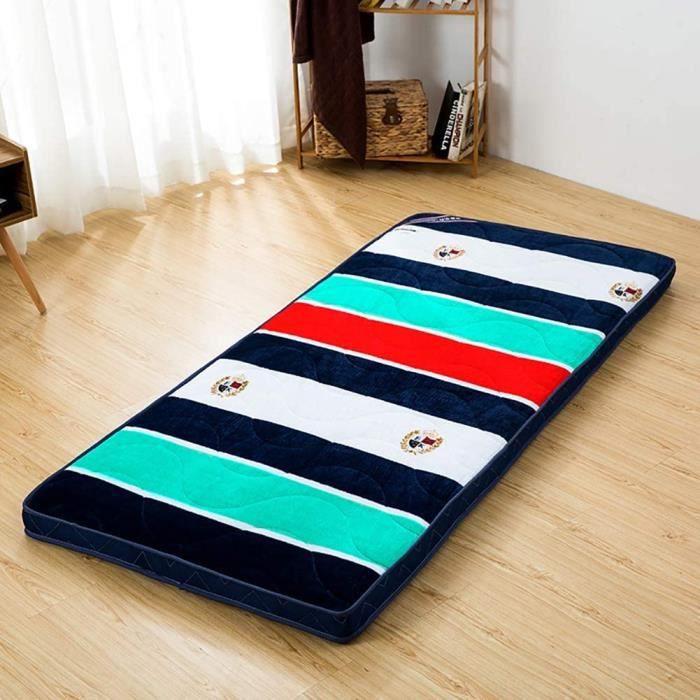 Matelas Tapis de Sol en Flanelle pour Dormir Tatami é pais Coussin de futon Japonais Traditionnel matelassé dort163