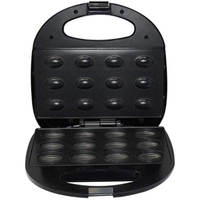 GAUFRIER Mini Machine Sandwich Gaufres Crecircpes PortableGaufrierMachine agrave gacircteaux aux noix Mini gaufrier agrave noix 1337