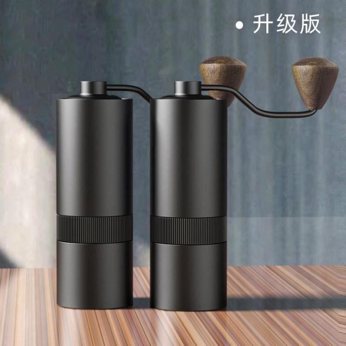 Ustensile de cuisine,Moulin à café Portable, broyeur à main, Machine à café en grains, boîte cadeau, Version améliorée