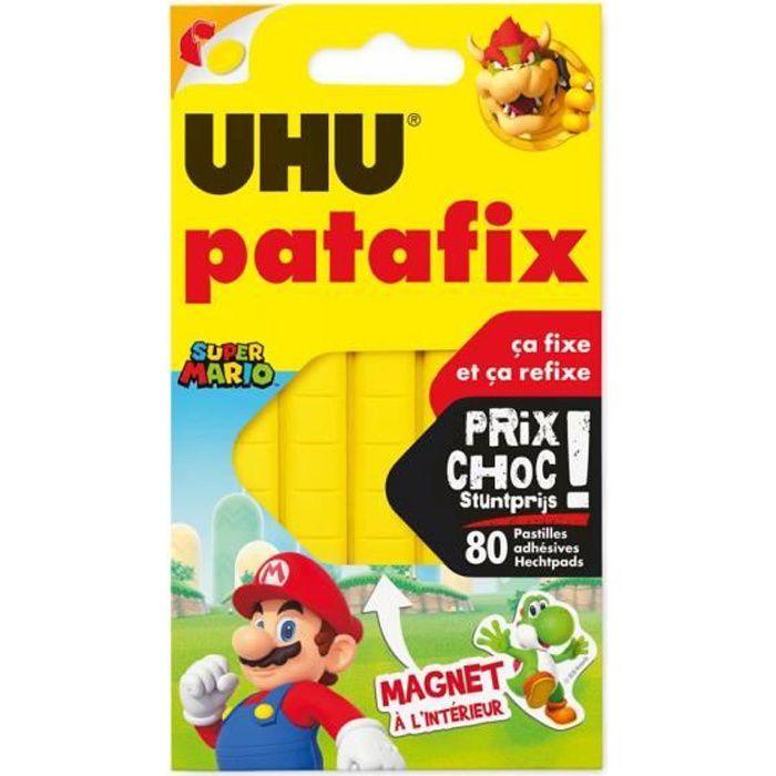 UHU Patafix Jaune 80 Pastilles PRIX CHOC RDC
