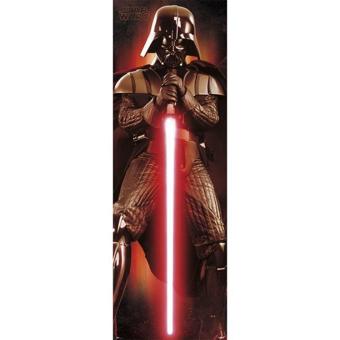 Affiche Porte Star Wars Darth Vader