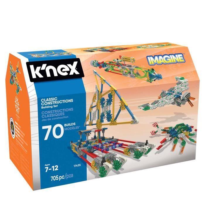 Jeu de construction Knex Imagine : Constructions classiques aille Unique Coloris Unique
