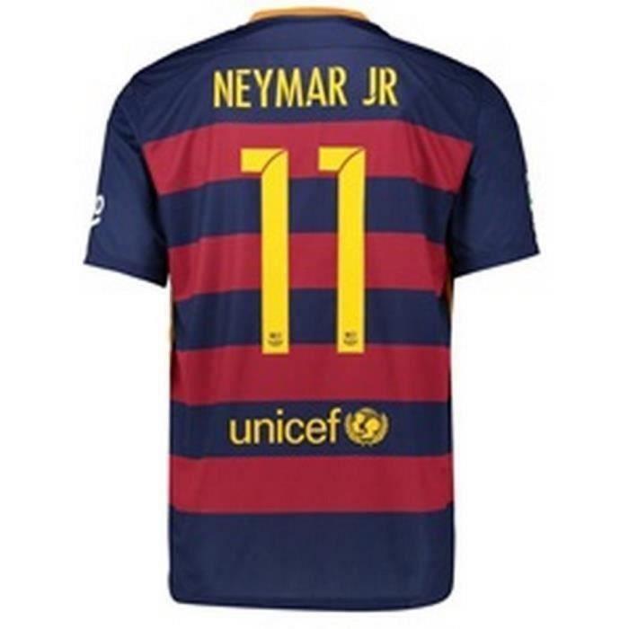 Maillot Enfant Nike Fc Barcelone Saison 2015-2016 Flocage Officiel Neymar Numéro 11