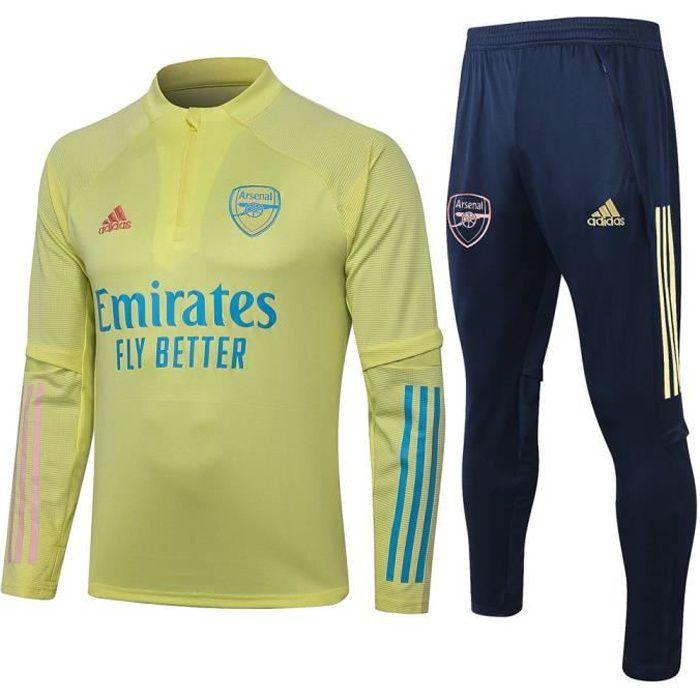 Survêtements Arsenal 2021 Adidas Maillot Homme Enfants Maillot de Football Nouveau - Jaune