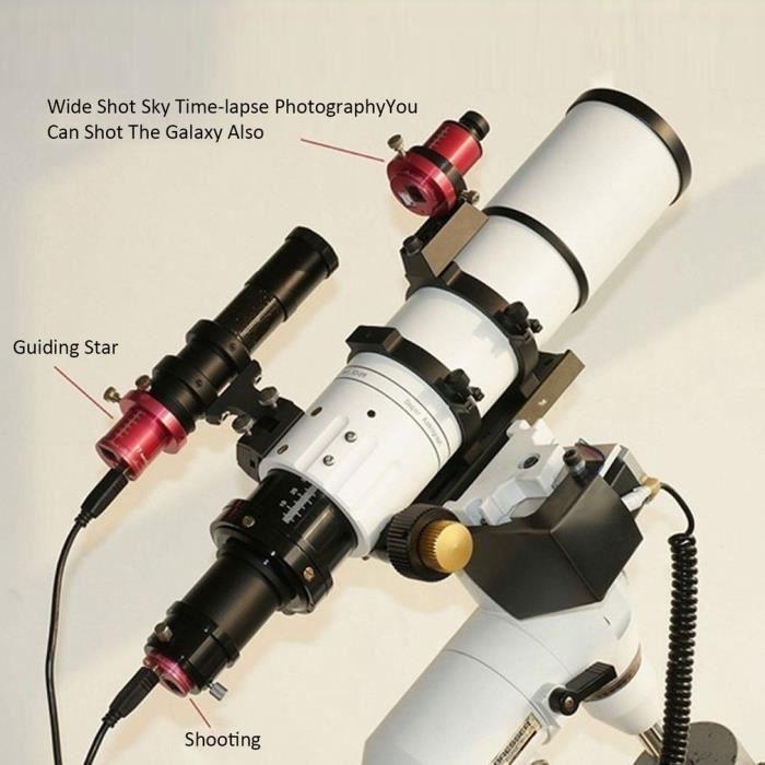 T7C caméra oculaire électronique Astro CCD monture équatoriale ST4 guide étoile caméra planétaire prise de vue dans l'espace
