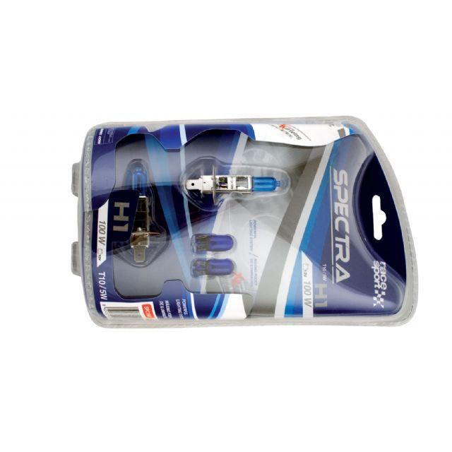 kit ampoules SPECTRA XENON H1 100W + veilleuse T10