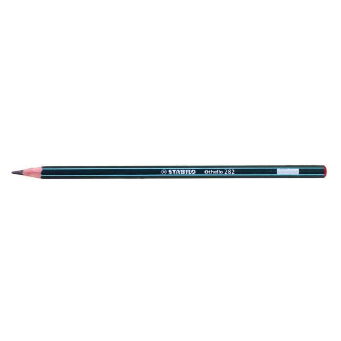 Lot de 12 Crayons papier Graphite Othello Héxagonal 6B