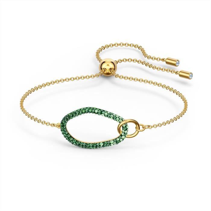 Bracelet femme - SWAROVSKI - Bracelet Swarovski The Element - Couleur de la matière:Jaune