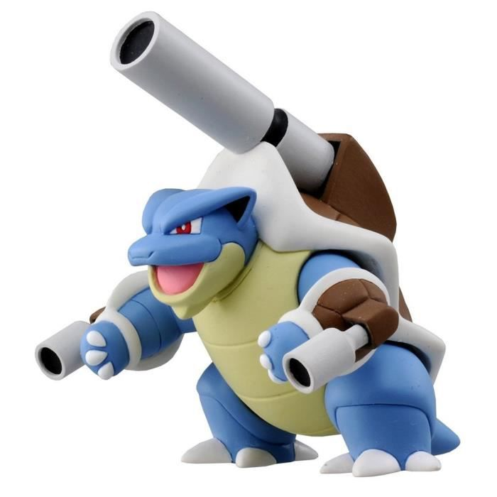 Figurine Pokemon : Méga-Tortank aille Unique Coloris Unique