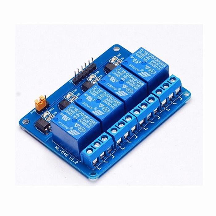Module de Relais /à 8 Canaux 5V 12V 5V 24V Carte dExtension de D/éclenchement de Bas Niveau pour Arduino Carte Relais Isolement par Photocoupleur