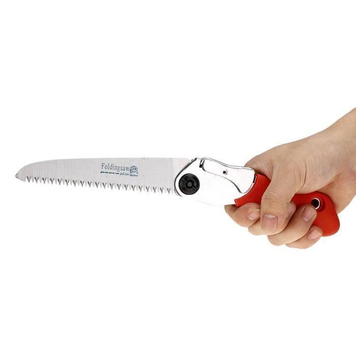 Mini scie /à Main Manuelle Portable pour /élaguer Les Arbres Tailler Les Branches