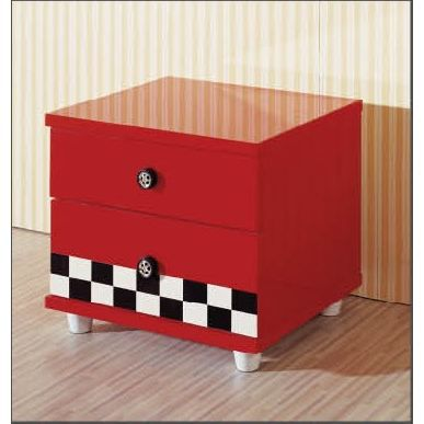 table de chevet pour chambre enfant rouge formu achat vente chevet table de chevet pour. Black Bedroom Furniture Sets. Home Design Ideas