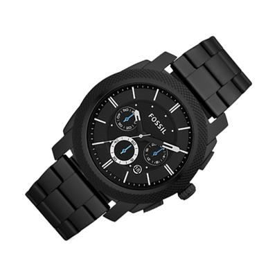 fossil machine fs4552 chronographe hommes achat vente montre fossil machine fs4552. Black Bedroom Furniture Sets. Home Design Ideas
