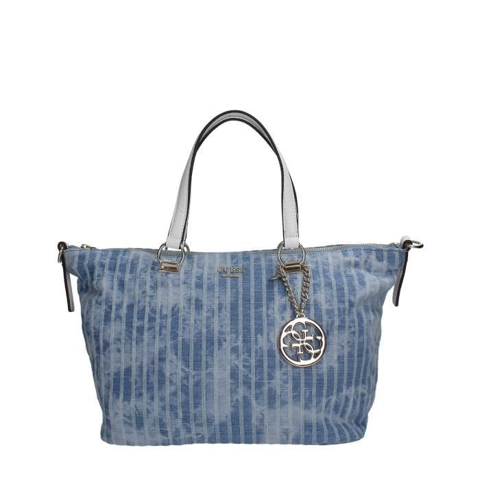 Guess Sac À Main Femme DENIM STRIPE, TU