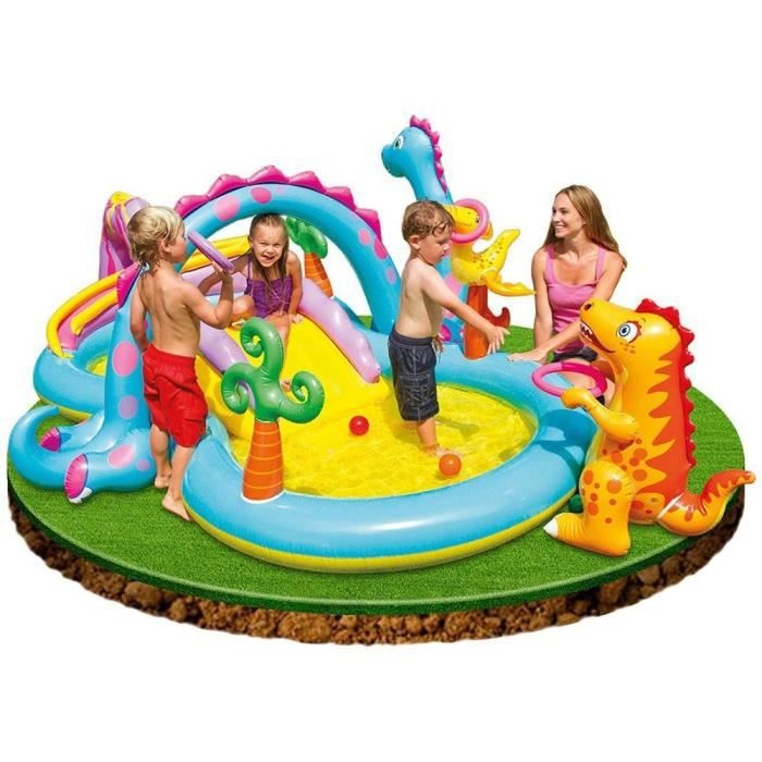 Intex piscine gonflable enfant aire de jeux aquatique for Carrefour piscina hinchable