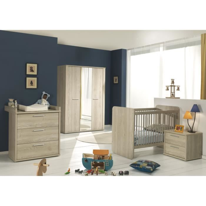 Chambre contemporaine conforama design de maison for Chambre complete bebe conforama
