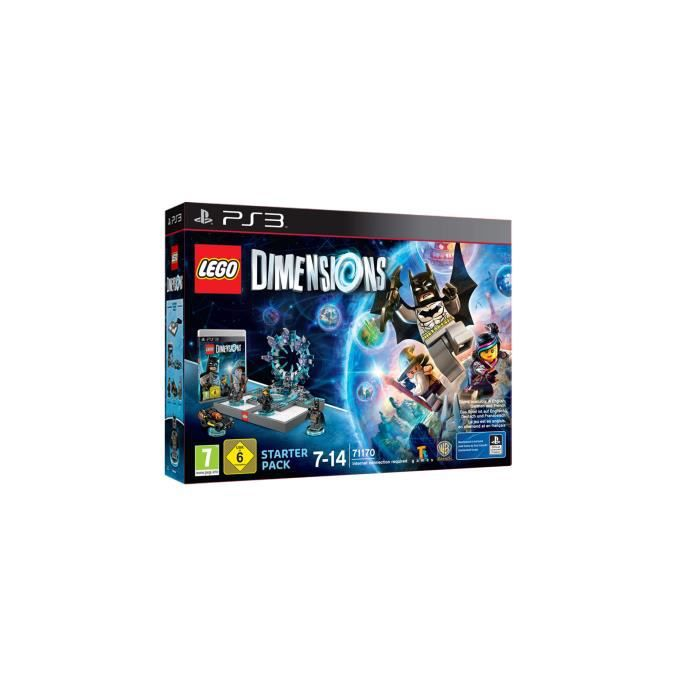 JEU PS3 LEGO DIMENSIONS STARTER PACK PS3 NL