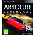 JEU PS3 ABSOLUTE SUPERCARS / Jeu console PS3