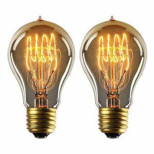 AMPOULE - LED Dimmable Edison Lampe A19 220-240V 40W 140lm E27 E