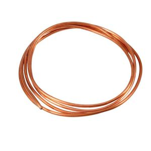 tube en cuivre /à bobine souple Tuyau de tube en cuivre souple 2M tube de r/éfrig/ération pour plomberie de r/éfrig/ération g/én/ér diam/ètre ext/érieur 4 mm x diam/ètre int/érieur 3 mm