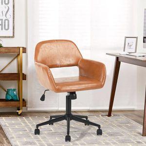 CHAISE DE BUREAU Chaise de bureau simili cuir Fauteuil Ergonomique