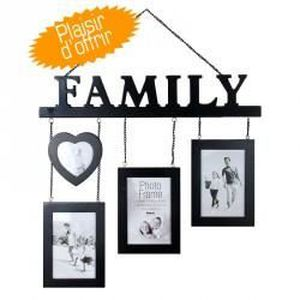 cadre photo family achat vente cadre photo family pas. Black Bedroom Furniture Sets. Home Design Ideas