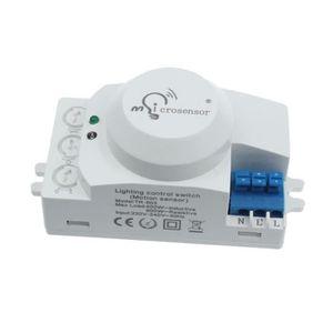 800W Détecteur de Mouvement PIR Capteur interrupteur 230V AC max