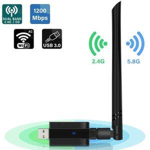 CLE WIFI - 3G EZCAST Clé Adaptateur USB WiFi sans Fil 1200Mbps W