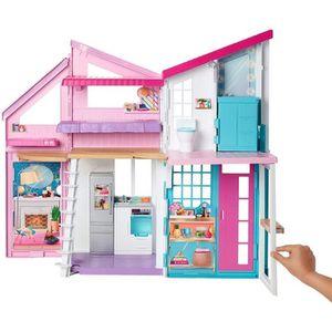 MAISON POUPÉE Barbie Mobilier La Maison à Malibu repliable pour
