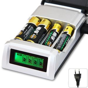 CHARGEUR DE PILES C905W 4 emplacements LCD Chargeur AA - AAA NiCd Ni
