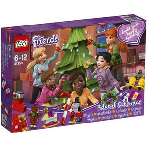 ASSEMBLAGE CONSTRUCTION LEGO® Friends 41353 Le calendrier de l'Avent O Fri
