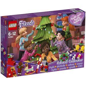 ASSEMBLAGE CONSTRUCTION LEGO® Friends 41353 Le calendrier de l'Avent O Fr