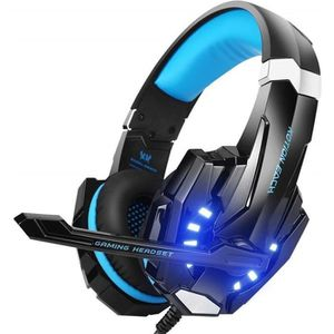 CASQUE AVEC MICROPHONE Casque Gaming Casque Gamer pour PS4 Xbox One Ninte