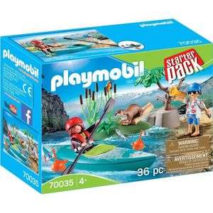 UNIVERS MINIATURE PLAYMOBIL 70035 - Family Fun - StarterPack Sportif