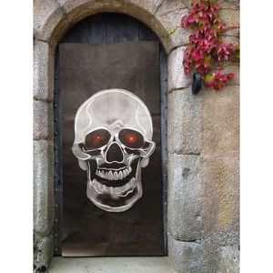 Deco halloween decoration de porte achat vente deco for Decoration fenetre clown