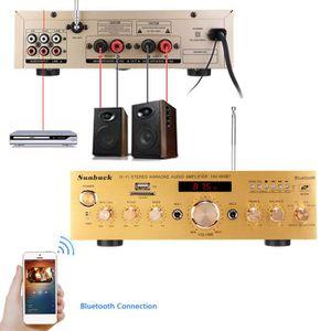 AMPLIFICATEUR HIFI TEMPSA 1200W Sétéro Bluetooth 4.0 Karaoke Amplific