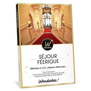 COFFRET SÉJOUR Wonderbox - Coffret cadeau prestige en couple - SÉ