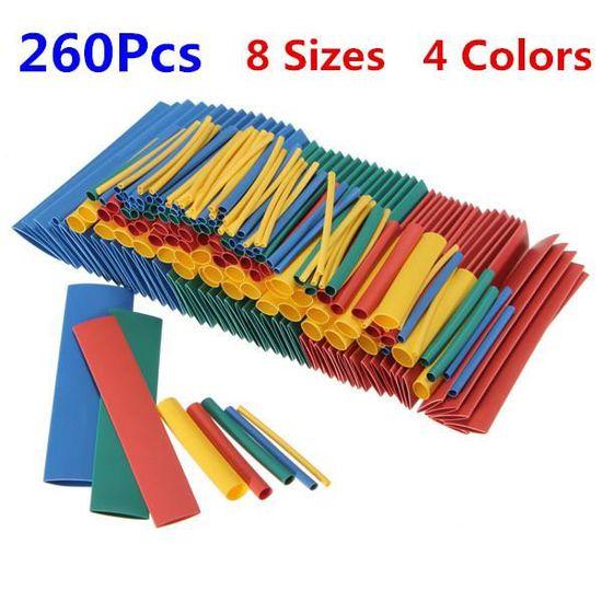 assortis Multicolore Gaine thermor/étractable Assortiment 100/Pi/èces