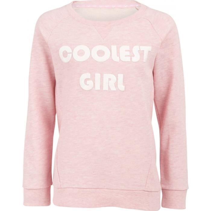 UP2GLIDE Sweatshirt Edona - Enfant fille - Rose clair