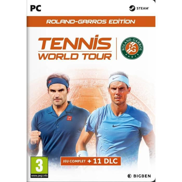 Tennis World Tour Roland Garros Jeu PC