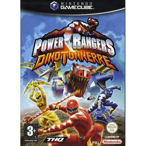 power rangers dino tonerre jeu console nintendo achat vente jeu game cube power rangers. Black Bedroom Furniture Sets. Home Design Ideas