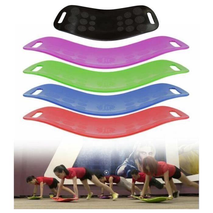 Twist Panneau Yoga Gym Fitness Workout Stabisatrice panneau de sport musculation entrainement - orange