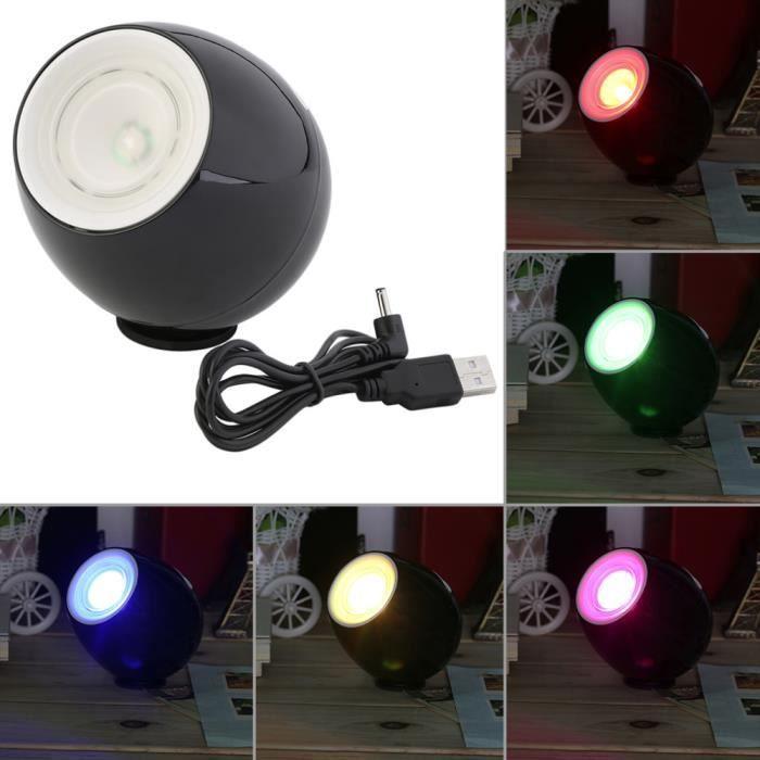 256 Living Colors Couleur Lampe LED Mood Light écran tactile barre de défilement USB Nuit Mood Light